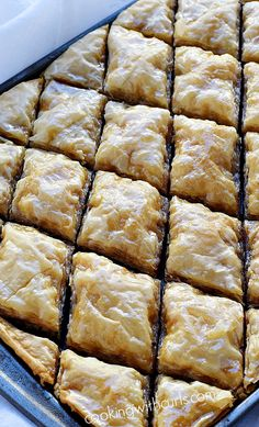 What is Choclava It is Baklava for chocolate lovers {with tutorial} | cookingwithcurls.com