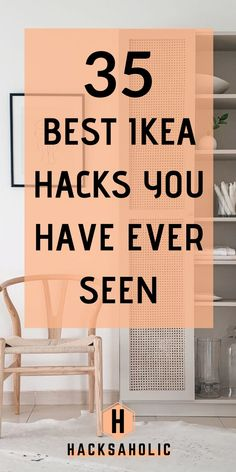 ikea hacks Ikea hacks are a great way to create something stylish and unique furniture. There are many great Ikea hacks, we have brought the best Ikea hacks together. Malm Hack, Ikea Kallax Hack, Ikea Hack Bookcase, Ikea Pax, Best Ikea Hacks, Ikea Furniture Hacks, Unique Furniture, Bedroom Furniture, Ikea Closet Hack