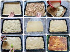 Jednoduchý jablkovo-pudingový koláč (fotorecept) - recept | Varecha.sk Mashed Potatoes, Ethnic Recipes, Food, Whipped Potatoes, Smash Potatoes, Meals