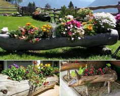 Create Amazing Things From Wooden Logs - Find Fun Art Projects to Do at Home and Arts and Crafts Ideas