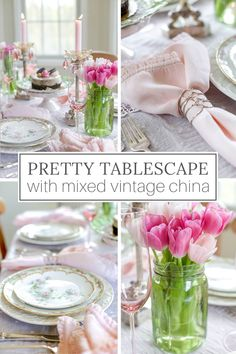 My favorite tablescapes mix old and new pieces, creating casual elegance. Here's how to mix vintage plates and modern decor in a seasonal table setting. French Country Christmas, Modern French Country, French Farmhouse Decor, French Home Decor, French Country Decorating, Vintage Home Decor, French Table Setting, Country Table Settings, Elegant Table Settings