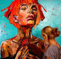 Painting : Anna Bocek