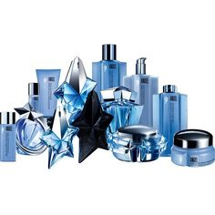 THIERRY MUGLER Angel luxury collection coffret (1,385 CAD) ❤ liked on Polyvore featuring beauty products and makeup