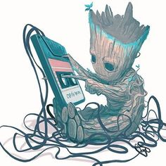 "Gefällt 2,387 Mal, 6 Kommentare - Antman616 (@rogue_comics_) auf Instagram: ""Art: <Mike del Mundo> Baby Groot…"""