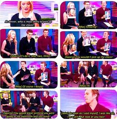 The host, they are so funny