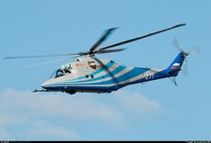 """Mil """"Mi-24K""""/""""Mi-PSV"""" (""""Hind-G Mod.2""""), b/n""""271""""white. KB Mil (MVZ) experimental helicopter.  14.07.2016."""