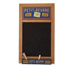 Petit Beurre retro kitchen blackboard.