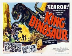 King Dinosaur Photo Mug Hot Cocoa Gift Basket Dinosaur History, Dinosaur Movie, Dinosaur Posters, Dinosaur Photo, Fantasy Movies, Sci Fi Movies, Sf Movies, Giant Monster Movies, Classic Sci Fi
