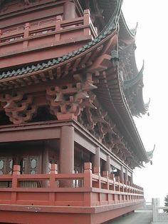 elaborate #pagoda roof in #china