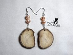 Items similar to Unique Deer Antler Sterling Silver and Pink Fresh Water Pearl Earrings on Etsy Custom Jewelry, Handmade Jewelry, Antler Jewelry, Pearl Earrings, Drop Earrings, Deer Antlers, Elk, Sheds, Fresh Water