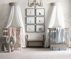 Image result for twin baby bedrooms with carpet