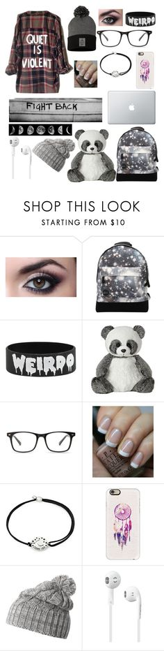 """Weirdo"" by slytherinavenger ❤ liked on Polyvore featuring Mi-Pac, OPI, Alex and Ani, Casetify and Helly Hansen"