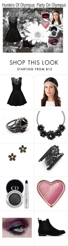 """""""Jennie Parker Hunters Of Olympus: Party On Olympus"""" by xxbethpeterxx ❤ liked on Polyvore featuring True Decadence, Betty Jackson, Marc by Marc Jacobs, Nina Ricci, NARS Cosmetics, Christian Dior, Too Faced Cosmetics, Ellis Faas, women's clothing and women"""