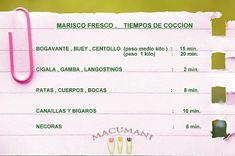 TABLA DE COCCION DE MARISCO Canapes, 20 Min, Recipes, Food, Kitchen, Home, Meals, Hacks, Cooking