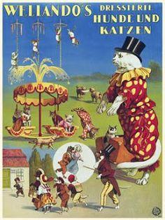 Vintage Venus: Vintage Circus Posters #vintage #circus
