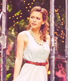 One of my favorite pictures of Bethany Joy Lenz. She is so gorgeous!