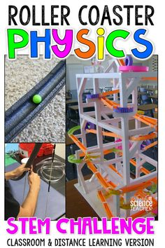 End your Force and Motion Unit with a BANG! This ready-to-implement resource is the perfect project to assess your Physical Science students' knowledge of Force and Motion. In this STEM activity, students will act as engineers (hired by a local theme park) to design and build a prototype for a new and more exciting ride. This STEM activity is a favorite in my Physical Science class and is sure to become a favorite in your class too.