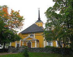 Nurmijärven kirkko. Herran läsnäolon merkkinä pitäjässä vuodesta 1793. Aleksis Kiven kotipyhättö.