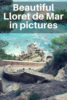 Lovely Spain in pictures! Lloret de Mar is where mountains meet the sea, where the sky is as high as deep is the water, where the trees are as green as gold is the sand…