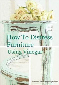 DIY Shabby Chic Painted and Distressed Furniture