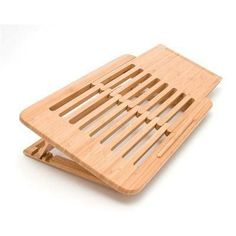 Expandable Laptop Stand Bamboo