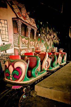 Krewe of Kreeps Ride - Abandoned Six Flags New Orleans by Brynne