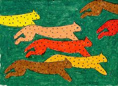 Art Projects for Kids: Herd of Animals