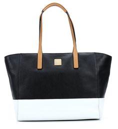 wardow.com - Tasche von MCM, Shopper Project Leather Shopper Leder schwarz 33 cm