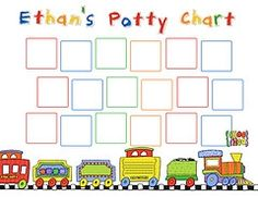 potty chart templates