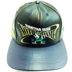 Fighting Irish Notre Dame, LOGO TEAM NFL BASEBALL LEATHER CAP