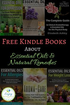FREE Essential Oils Kindle Books - who doesn't love something for free? Bookmark this page, and come back to it often, as I'll keep updating it regularly with new free kindle books.