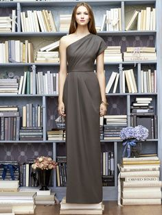 Lela Rose Bridesmaid Dress LR217 is sure to make a statement. This long bridesmaid dress is available at ModelBride for $236.30. #modelbride #longdress #bridesmaiddress