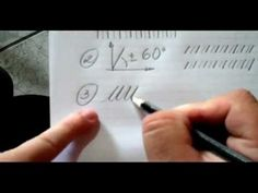 """▶ Calligraphy Exercises - Constructing the Alphabet - Walmir Medeiros - Excellent exercises and instruction for beginning calligraphers.  It's a good idea to do these as a warm up before you start lettering every day, until you get comfortable.  Notice he uses a pencil, which is many calligraphers' tool of choice, for layout and practice -- less messy, and it has a nice """"drag"""" on the paper, giving you more control."""