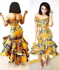 Ankara styles are the most beautiful pieces of clothing. Ankara Styles is one of the hottest African fashion you need to wear. We have many Women's African Fashion Style Outfits for you Perfe… African Inspired Fashion, Latest African Fashion Dresses, African Print Dresses, African Print Fashion, Africa Fashion, African Dress, Fashion Prints, Fashion Design, African Prints
