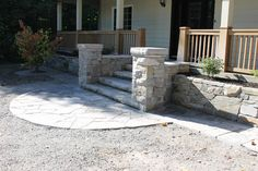 Dry-Laid - Dry laid stone walkways retaining walls and flower beds Stone Walkways, Retaining Walls, Flower Beds, Patio, Outdoor Decor, Flowers, Home Decor, Terrace, Raised Beds