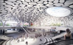 Gallery of Mecanoo Reveals Plans for Massive Green Train Station in Taiwan - 6