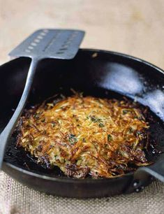 Parsnip and potato rösti A twist on the classic potato rösti to use up leftover parsnips from the festive season. Serve this rösti alongside a roast or top with a poached egg for brunch