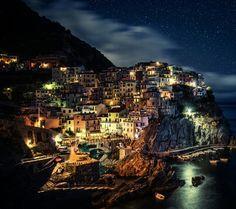 The night of Italian island