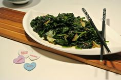 The key to delicious, flavorful Seasoned Spinach and Bok Choy is all in the saute'. #SundaySupper