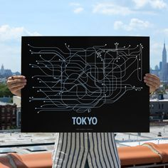 Fab.com | Tokyo Screenprint Black
