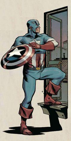 Captain America by Ramon Pérez