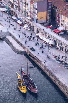 Refuse to hibernate Porto vue quais depuis le pont Dom Luis Algarve, Entertainment Sites, Europe Destinations, Places Around The World, World Heritage Sites, Vacation, City, Road Trips, Interior Inspiration