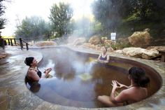 All inclusive accommodation and Peninsula Hot Springs Package on the Mornington . Hot Springs Arkansas, Water Villa, Spa Center, All Inclusive, Sorrento, Banff, British Columbia, Places To See, California