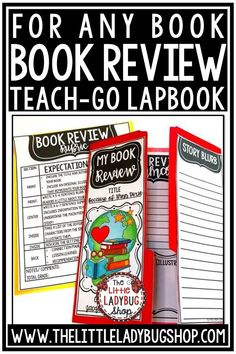 Your students will love creating their easy Book Report Lapbook to reflect on their favorite novel or book club! This book review lapbook is a fantastic activity to do as a culminating project! Perfect for book clubs, literature circles and read aloud books for 2nd grade, 3rd grade, 4th grade and home school students. #bookreviewactivity #bookclubactivity #bookreportactivity
