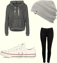 Winter Middle School Outfit (- the hat) Umm Hello