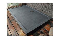 1400x900 Grey Granite Stone Shower Tray - SPACIUM