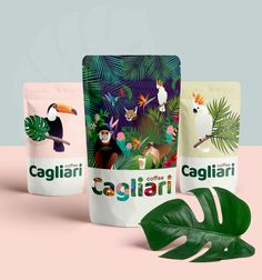 Ideas For Design Packaging Coffee Illustrations Pouch Packaging, Fruit Packaging, Cool Packaging, Food Packaging Design, Coffee Packaging, Coffee Branding, Packaging Design Inspiration, Food Branding, Bottle Packaging