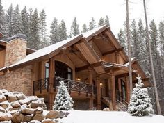 House in the side of the mountains? Colorado here I come!....someday :)