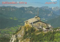 From a kind Hungarian Friend - Arrived: 217.10.19   ---   The Kehlsteinhaus (known as the Eagle's Nest in English-speaking countries) is a Third Reich-era building erected atop the summit of the Kehlstein, a rocky outcrop that rises above the Obersalzberg near the town of Berchtesgaden. It was used exclusively by members of the Nazi Party for government and social meetings. It was visited by Adolf Hitler on a total of 14 documented instances. Today it is open seasonally as a restaurant.