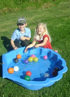 Yoyo Balloon Fishing Game for parties and fundraisers.
